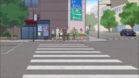 ちおちゃんの通学路歩き方が極限で信号がカラータイマーだね。SAN値www#ちおちゃんの通学路