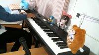 ドメスティックな彼女のOP「カワキヲアメク」のピアノカバーの耳コピです((所々ミスがあるけど…))かっこいい曲でハマって
