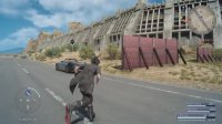 イグニス消滅バグの状態でレガリアでドライブするとこうなるwwこれが本当のオートドライブだ!! #FF15