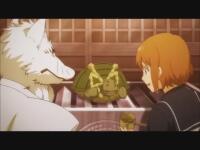 """ぎんぎつね(Diomedea)稲荷神社の跡取りのまことにだけ""""神使""""の狐・銀太郎の姿が見えていた。ある日まことは銀太郎に"""