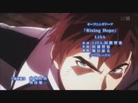 魔法科高校の劣等生(マッドハウス)「Rising Hope」(作詞:LiSA、田淵智也/作曲:田淵智也/歌:LiSA)