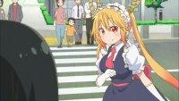 Key Animation: ??? Anime: Kobayashi-san Chi no Maid Dragon (